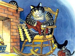 knitting-cat