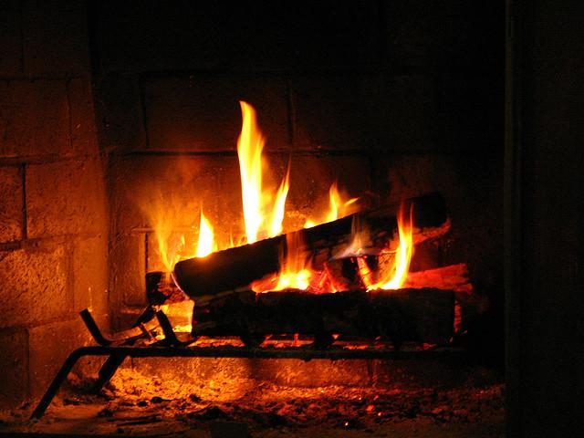 12292014 - Fireplace