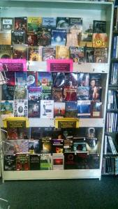 Local authors display 1