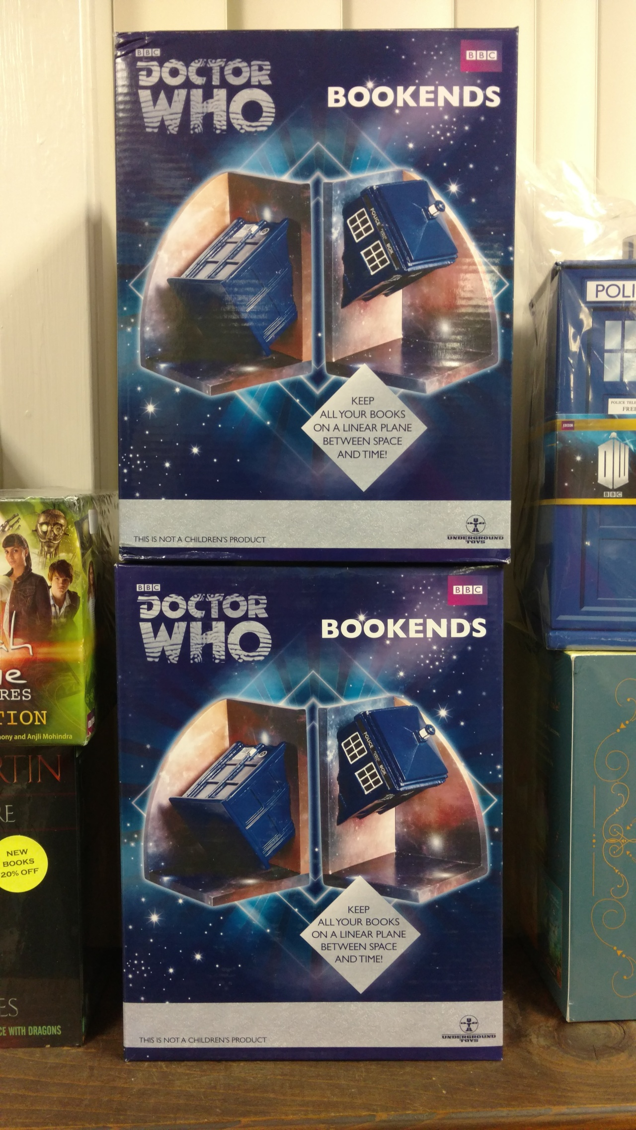 12012015 - Tardis bookends pic
