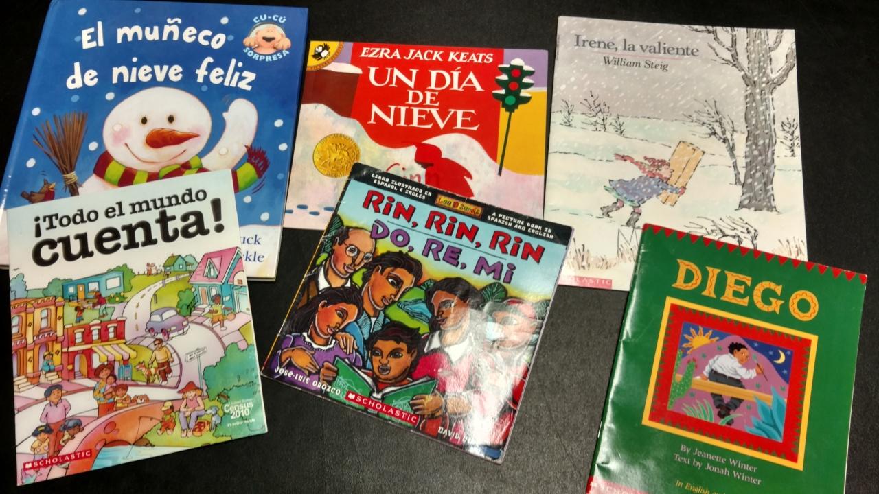 12162015 - Spanish language chilren's books