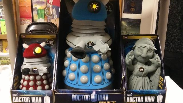 12222015 - Dalek Plush