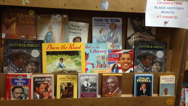 02012016 - Black History month display