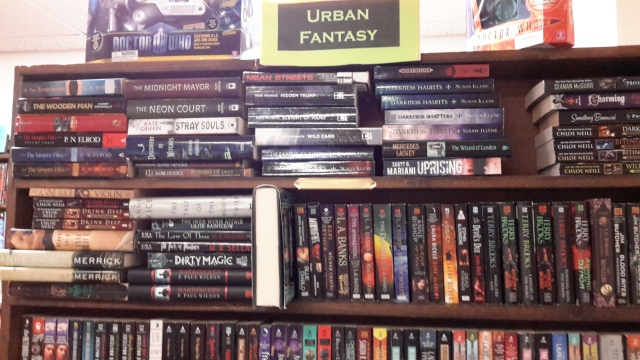 02152016 - Urban Fantasy section