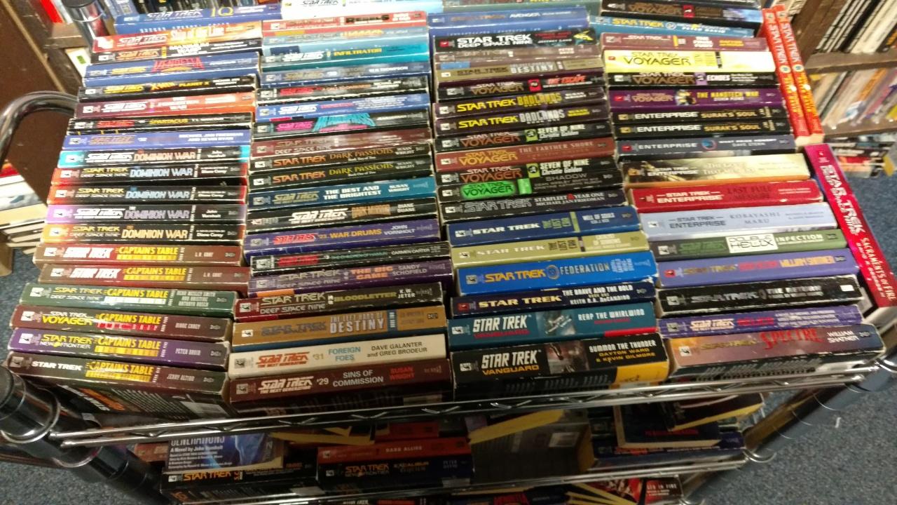 08082016 - Star Trek Books