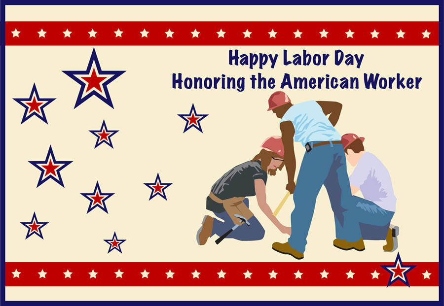 09052016 - Labor Day clip art