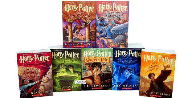 Harry Potter American Books