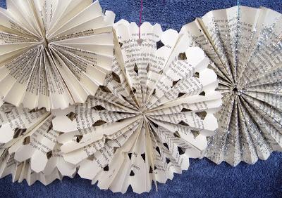 01182016 - Book Snowflakes