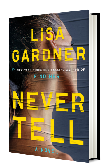 Never Tell Cover in 3D
