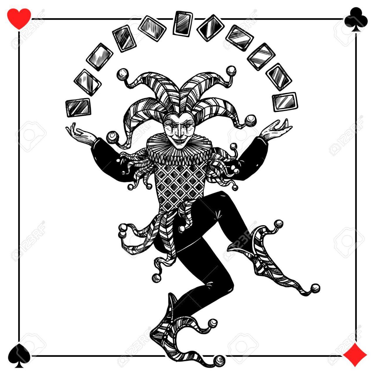 Joker Background Illustration