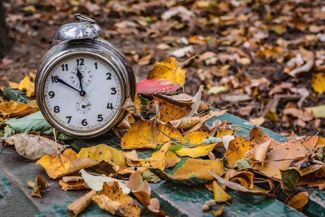 old-clock-on-autumn-leaves-julian-popov