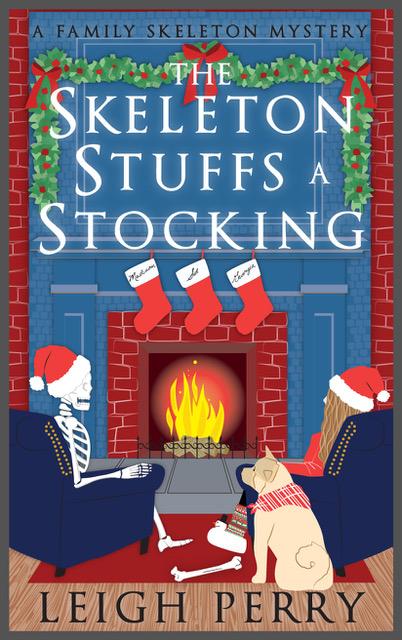 Skeleton Stuffs a Stocking
